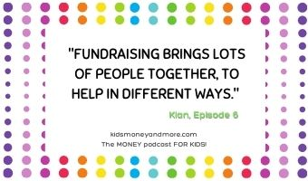 Fundraising quote from Episode 6